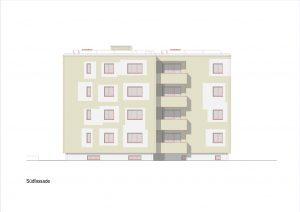 Aussensanierung Mehrfamilienhaus Herrenweg Reinach
