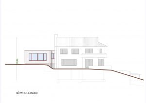 Anbau an Einfamilienhaus Reinach